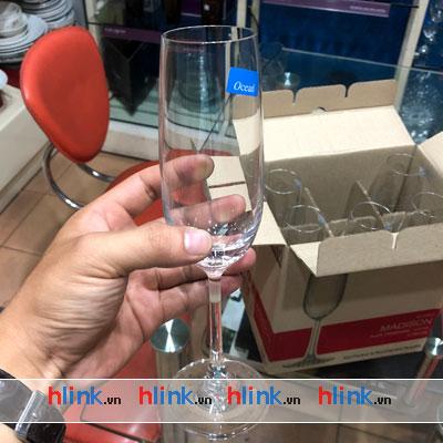 lythuytinh 015F07 02 - 9 mẫu ly thủy tinh uống rượu Champagne Ocean Thái Lan