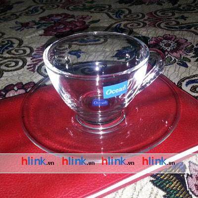 prolist389 bo ly tach hop dep P00640 00671 04 - Bộ 6 Đĩa Lót Và 6 Tách Trà Cosmo Tea Cup - P00640/P00671 - 230ml