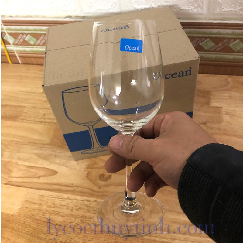 ly thuy tinh uong ruou vang trang 015W12 06 - Bộ 6 Ly Thủy Tinh Madison White Wine - 1015W12 - 350ml