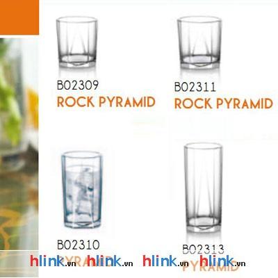 prolist73 coc thuy tinh ocean Rock Pyramid B02309 260ml 03 - Cốc Thủy Tinh Rock Pyramid - B02309 - 260ml