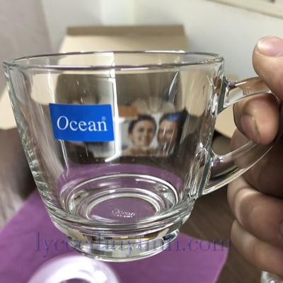 bo 6 tach dia cafe P01641 1671 06 - Bộ 6 Đĩa Lót Và 6 Tách Cafe Kenya Cappuccino Cup P01641/P01671 Loại To - 245ml