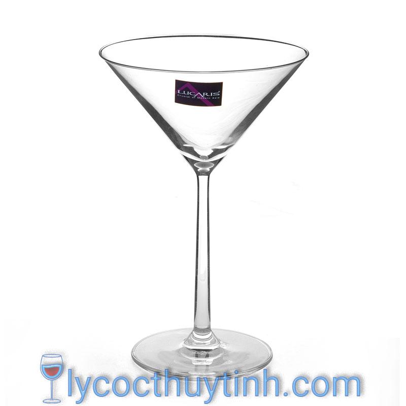 ly pha le Shanghai Soul Martini 1LS03MN08E 230ml 01 - Bộ 6 Ly Pha Lê Shanghai Soul Martini - 1LS03MN08E - 230ml