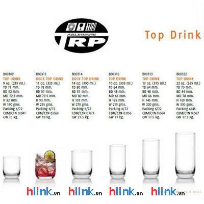 Coc-thuy-tinh-Ocean-Top Drink - B00310 - 305ml-03