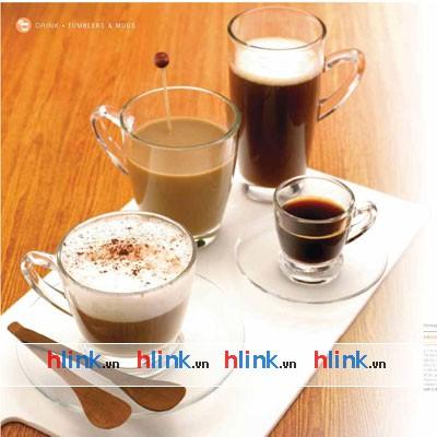 prolist46 P01640 coc thuy tinh catalogue coc thuy tinh tach dia cafe 02 - Bộ 6 Cốc Thủy Tinh Kenya Mug - P01640 - 320ml