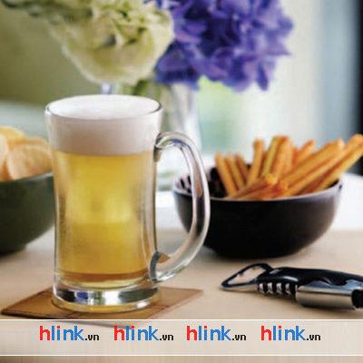 Coc thuy tinh - Bia Lugano Mug - P00740 - 330ml-02