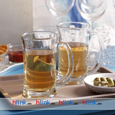 Coc thuy tinh - Bia Lugano Mug - P00740 - 330ml-03