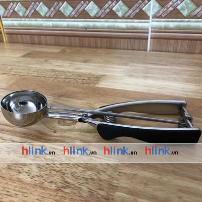 muong muc kem inox 5cm 01 - MUỖNG MÚC KEM INOX LÒ XO NORPRO - 5cm - MK01