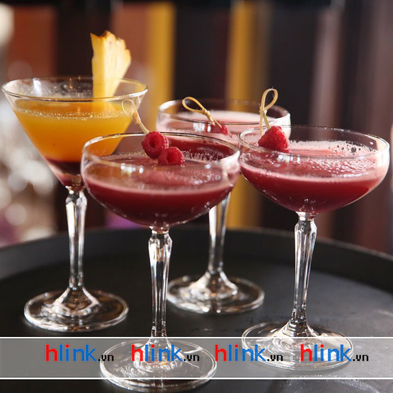 ly thuy tinh connexion cocktail 1527C07 06 800x800 - Bộ 6 Ly thủy tinh Connexion Coupe - 1527S07 - 215ml